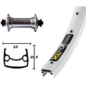 Exal XL 25 Vorderrad 26x1.90 TX800 RM-40 QR 36L silber